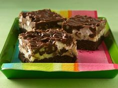 Double-Chocolate Rocky Road Cookie Bars