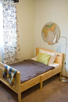 little boy room - like this bed