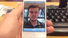 iOS app lets you snap self-portraits by winking!