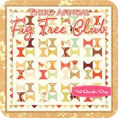 Third Annual Fig Tree Club Quarterly Club by Fig Tree Quilts - Fat Quarter Shop
