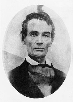 Photo of Abraham Lincoln before becoming President.