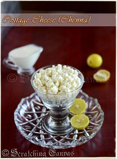 Homemade Cottage Cheese With Lemon Juice