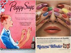 as décadas de 40 e 50 voltam a ser tendência, desta vez no estilo de manicure