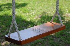 monogrammed swing!
