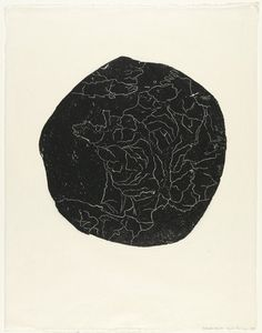 Louise Bourgeois. Water Divide, second version, state III. 1995