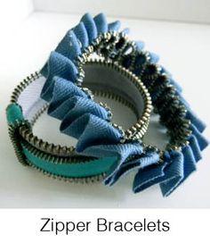 DIY- Zipper Bracelets