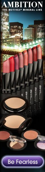Motives Mineral #Lipstick and Mineral Pressed #Blush. Motives Mineral Lipstick, a multi-functional product, protects and enhances for youthful-looking lips with a perfect touch of color. Motives Mineral Pressed Blush provides a natural finish that goes on smooth and silky and leaves your face glowing. See the full line here... http://www.shop.com/steveg/~~Ambition-abMarket+America-t0-s72094-k15-internalsearch+260.xhtml?vid=248698
