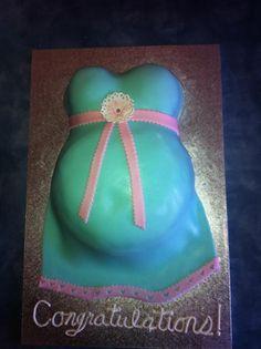 baby shower cakes, bump cake, babi shower, baby showers