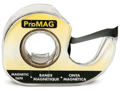 Magnetic Tape... allows you to turn any lightweight item into a magnet.