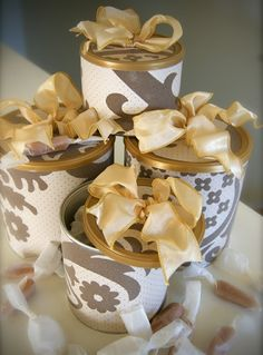 dont throw away your baby formula cans... turn them into gift containers.. etc. along with othe good uses!!!