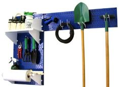 Wall Control Pegboard Garden Supplies Storage and Organization Garden Tool Organizer Kit with Blue Pegboard and White Accessories by Wall Control, http://www.amazon.com/dp/B00CMD4MQQ/ref=cm_sw_r_pi_dp_ICKIrb0VXG458