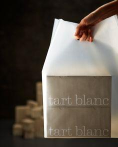 tart blanc packaging