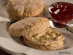 Yogurt Biscuits - Who knew you could use Greek yogurt to create a #lowfat bread recipe like this?!