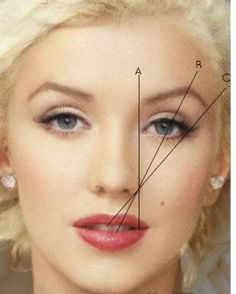 Good eyebrows are the first step to a beautiful face.  -- Don't forget evenly spaced eyes.  Not too close set or too far apart.  Next an oval face shape with a beautiful nose and full lipss.  If you don't have all these, just work hard with what you have starting with eyebrows.  This is why we are on Pinterest.
