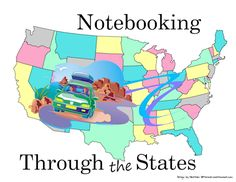Notebooking Through the States is an impressive collection of free research-driven, ready-to-use student notebook pages.