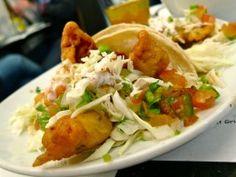 Crunchy Baked Fish Tacos.