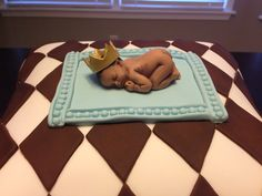 ... baby shower cake i made! 50 Cakes of Gray Mallory Gray Memphis TN More