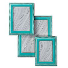 High gloss and bold color. New Avalon Frame in Aquamarine, $16.95 - $29.95