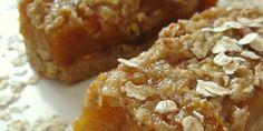 Treacle tart pločice s jabukama i marelicama