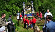 A NEW village trail has been launched at Mayfield on the day the village came together for the traditional blessing of the wells.