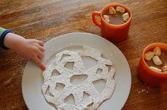 DIY Tortilla Snowfla