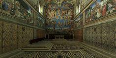 Amazing 3D tour of Sistine Chapel