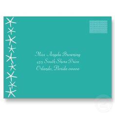 Blue Lagoon Wedding Response Postcard postcard