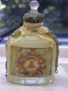 soldered & waxed bottle by Shabby Cottage Studio, via Flickr