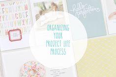 Organizing Your #ProjectLife process // via @gossamerbluekit