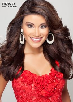 how i want my hair done for my next pageant. Like Miss Georgia's :)