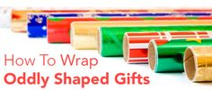 How to Wrap Oddly Shaped Gifts | Parenting.com