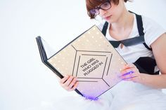 "The Girl Who Was Plugged In // Researchers at the MIT Media Lab have created a ""wearable"" book."