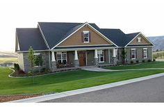 craftsman houses, home plans, dream, hous plan, floor plans, art houses, bathroom, homes, house plans