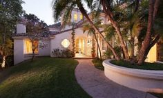Sharon Stone Beverly Hills Home