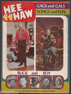 1971 HEE-HAW Magazine #7 CBS TV SHOW Country Music CHARLTON PUBLICATION