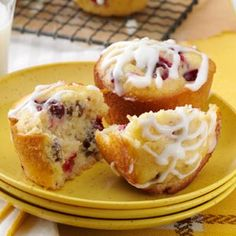 Cream Cheese Cranberry Muffins: except I did raspberry chocolate chip....next time no chocolate.