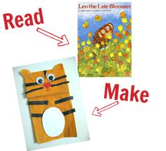 Read & Make - 25 books with matching crafts.