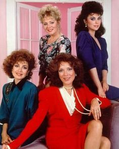 Designing Women: watched reruns of this whenever I was sick and then the next day would try to copy the lady's wardrobes.  I thought they were so stylish!