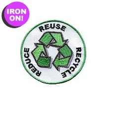 Earn the Reduce, Reuse and Recycle Fun patch to help save our earth. You can find this patch on PatchFun.com along with many more.