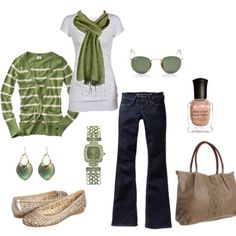 Green outfit.. St. Patrick's day
