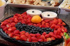 Elmo & Abby birthday party - food