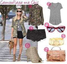 Camouflage me Chic