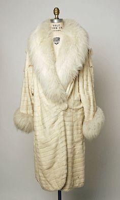 Art Deco Coat - Late 1920's - The Metropolitan Museum of Art
