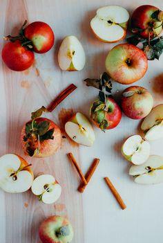 roasted apple butter + apple crisp ice cream | brooklyn supper