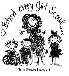 I'm a proud Girl Scout Leader <3