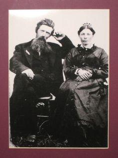 Charles and Caroline Ingalls...
