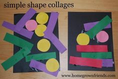 Simple shape colleges...
