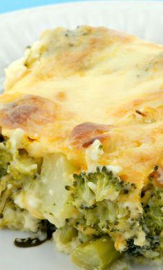 Broccoli Cheese Bake Recipe