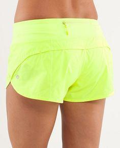 Lululemon neon shorts