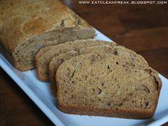 CLEAN FREAK: {clean} Whole Wheat Banana Bread